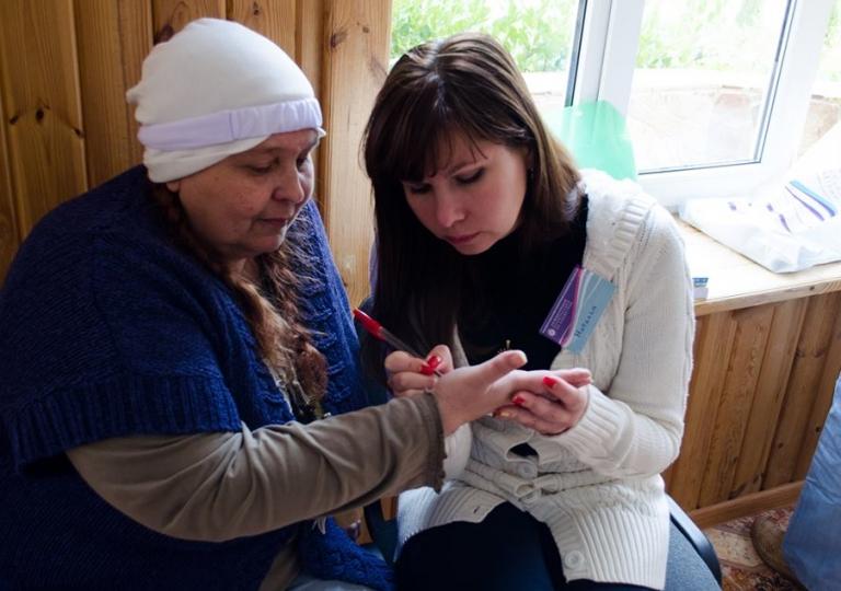 С Екатериной Борисовой (Баба Катя) - финалисткой 15-ой битвы Экстрасенсов