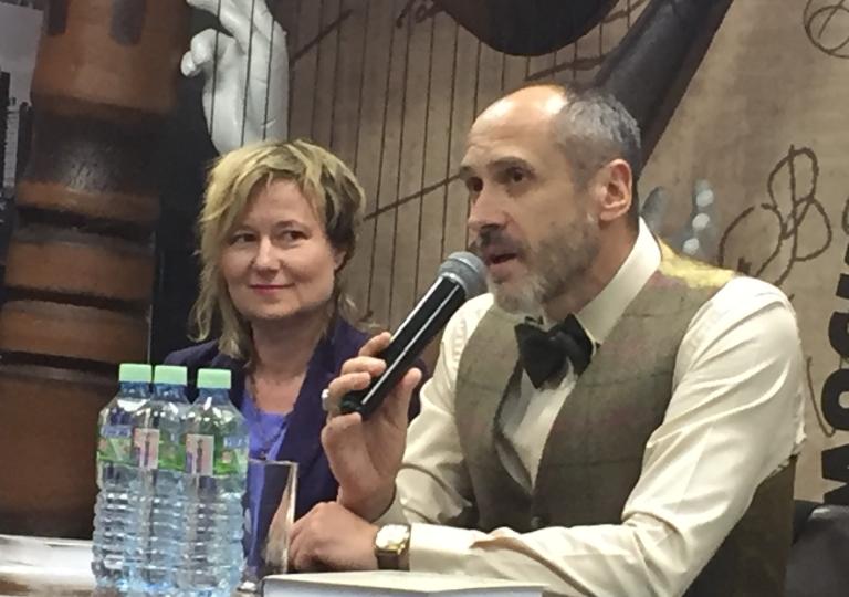 Презентация «Энциклопедии по хиромантии» Бориса Акимова Дом книги Москва февраль 2018